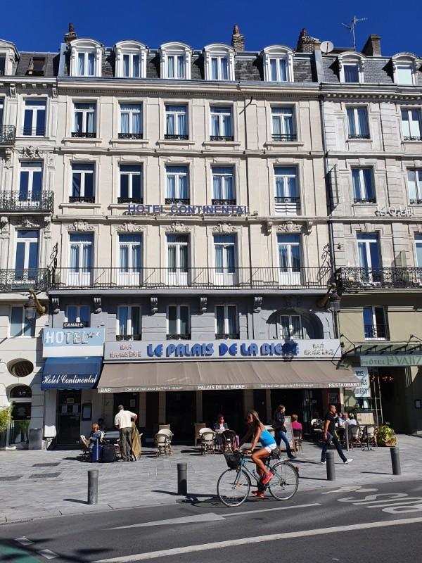 réouverture du CONTINENTAL HOTEL LILLE
