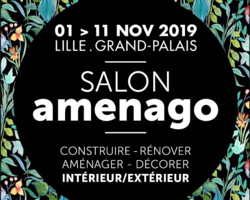 SALON AMENAGO JUSQUE 11 NOVEMBRE 2019 AU LILLE GRAND PALAIS