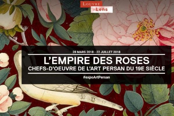 L'empire des Roses Musée du Louvre Lens (62)  Expo