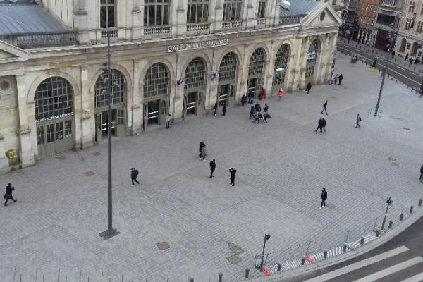 La Place de La Gare se refait une nouvelle jeunesse